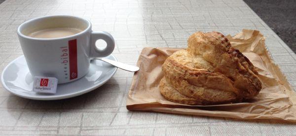 Classic Baguette and Croissant