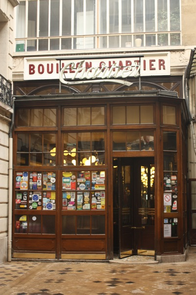 Chartier Restaurant , Paris France