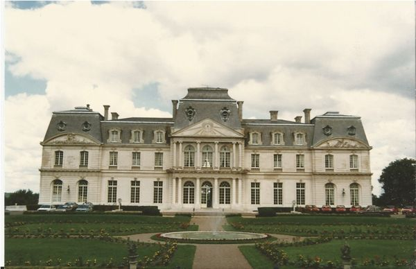Chateau d'Artigny, France.