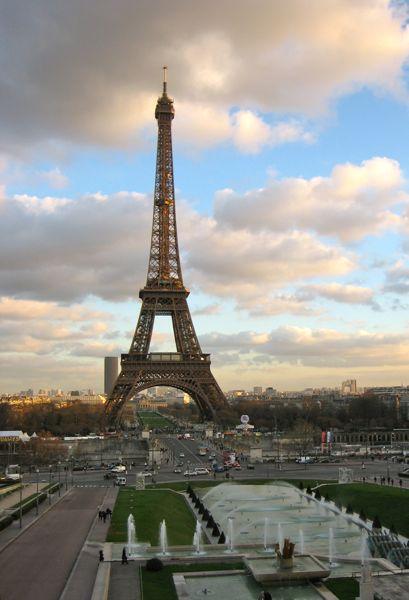Eiffel Tower, Paris France.