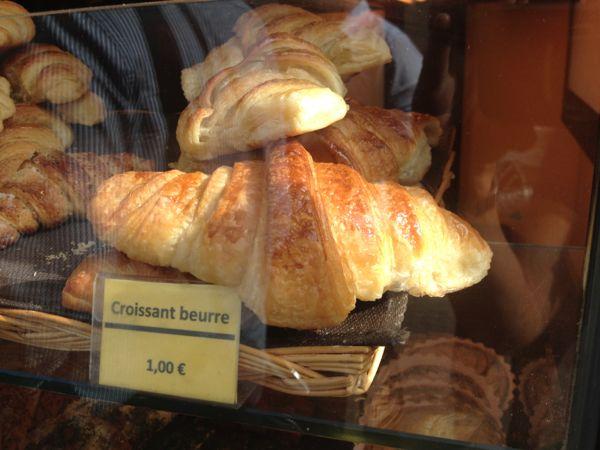 Croissant Buerre, France.