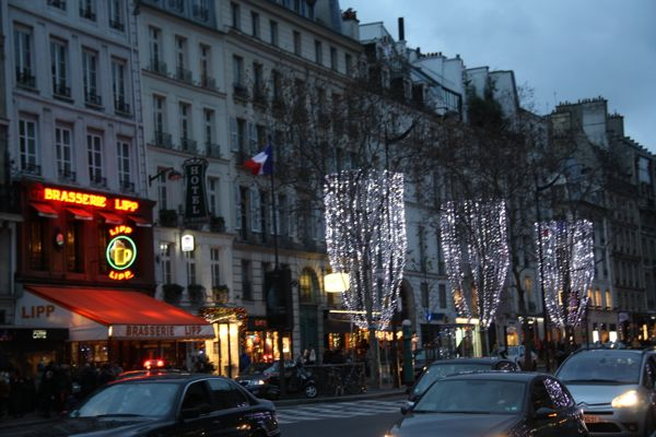 Blvd Saint Germain, Paris France
