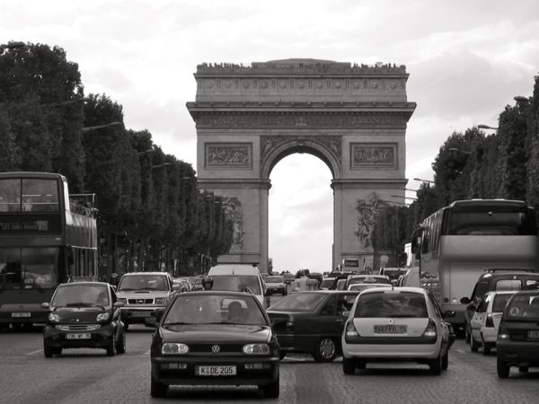 Champs Elysee, Paris France