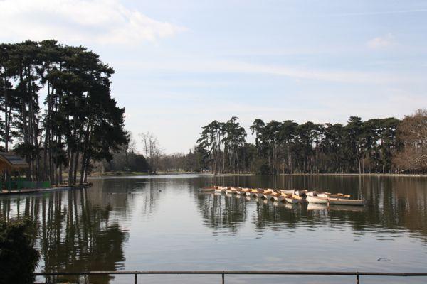 Bois de Boulogne, Paris France