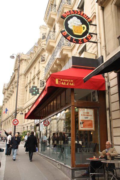 Brasserie Balzar, Paris.