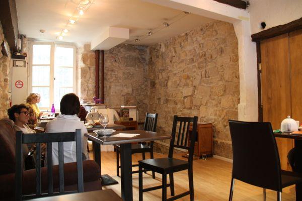 Cafe des Chats, Paris, France.