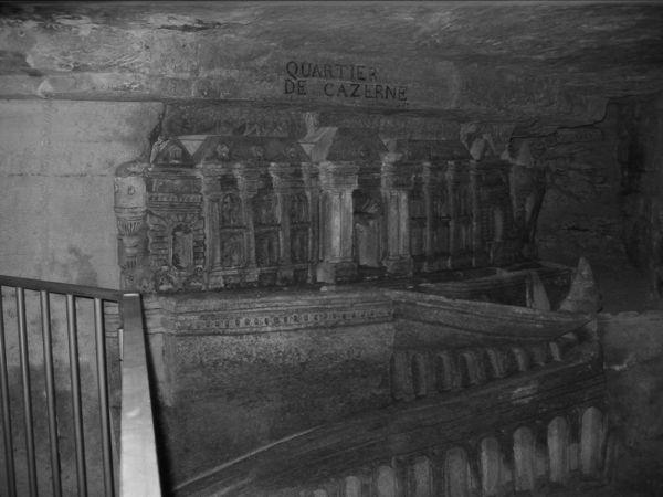 Catacombs, Paris, France.