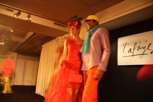 Galeries Lafayette Fashion Show. Paris, France.