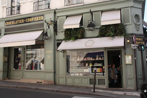 Laduree, Paris.
