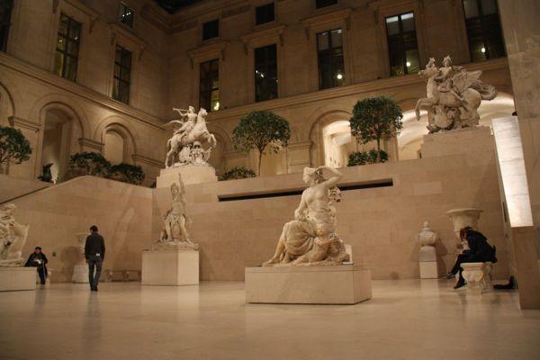 Louvre Museum, Paris.