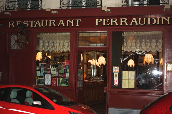 Restaurant Perraudin, Paris France.