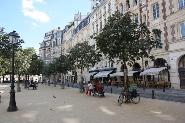 Place Dauphine, Paris, France.