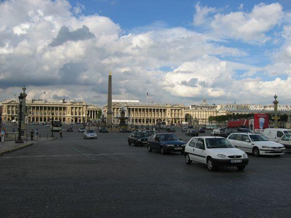 Place de la Concorde, Paris.
