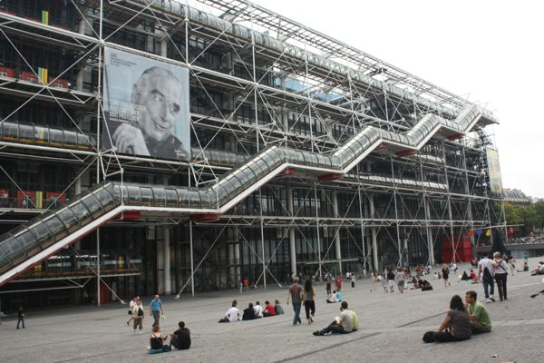 Pompidou Centre, Paris France
