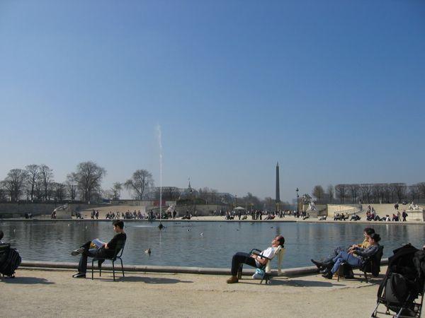 Jardin des Truileries, Paris.