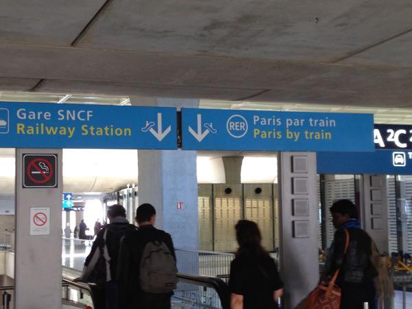 Transportation Paris By Train