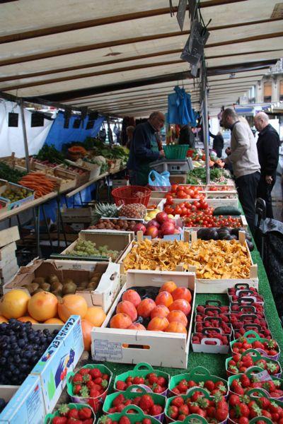 Le Foodist tour at Maubert-Mutualite Market. Paris, France.