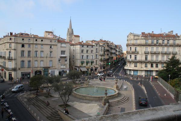 Place Martyrs de la Resistance Montpellier France
