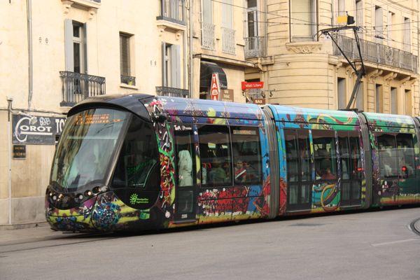 Tram Montpellier France