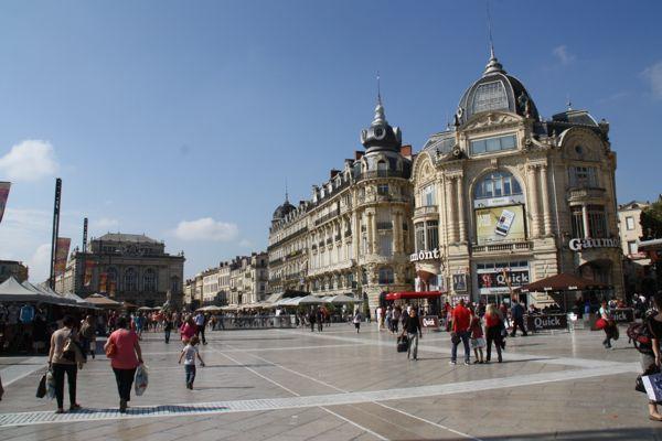 Place de la Comedie, Montpellier France