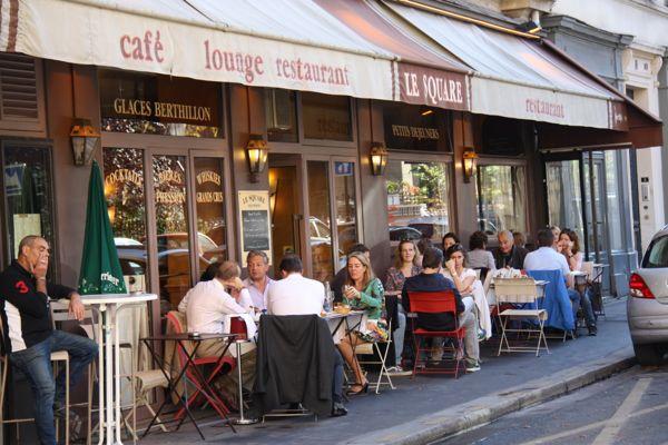 Restaurant Le Square in Paris, France