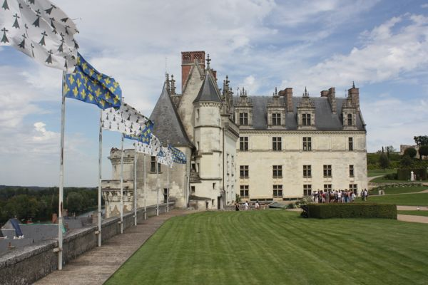 Chateau d'Amboise, Loire Valley, France.