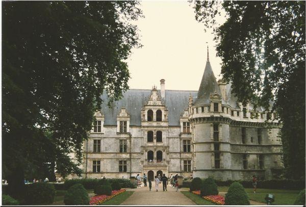 Azay le Rideau, France.