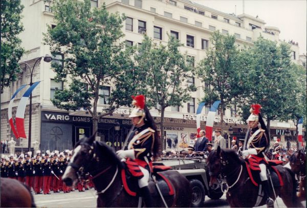 Bastille Day Parade, Paris France.