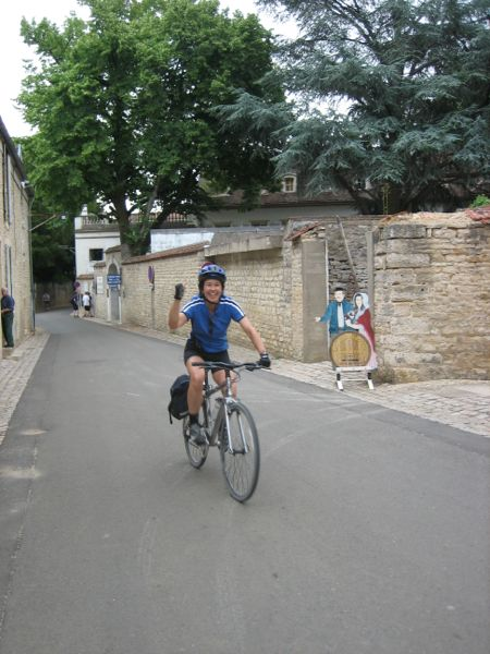 Burgundy Bike Tour, France.