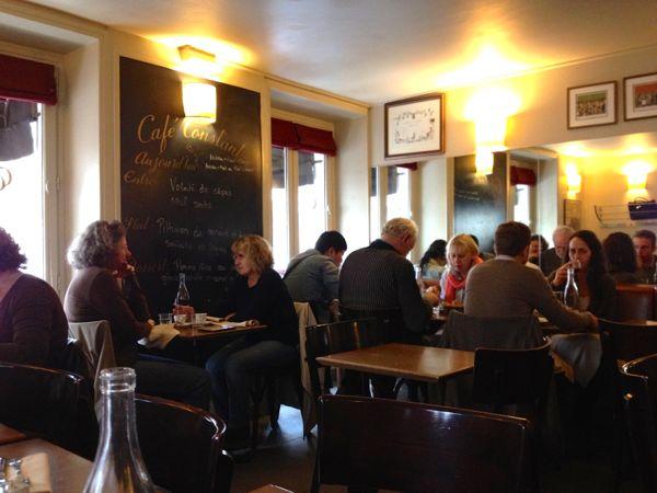 Cafe Constant, Paris, France.
