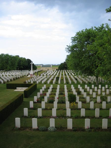 Canadian War Cemetrary in Beny-Sur-Mer, France.