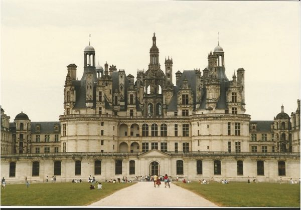 Chateau du Chambord , France.