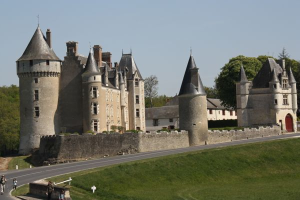 Chateau Montpoupon, France.