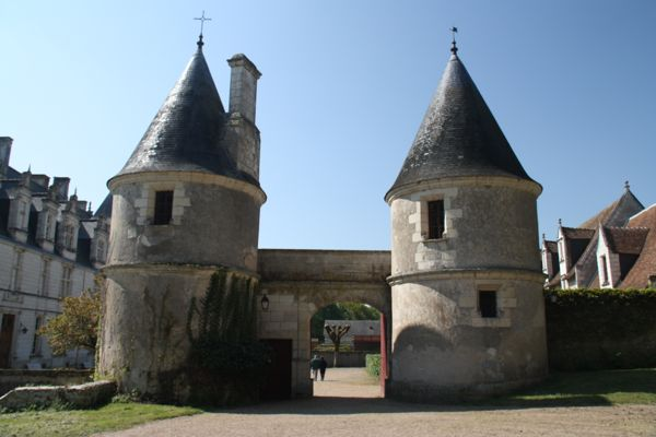 Chateau de Nitray, France.