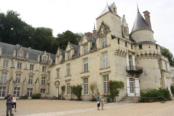 Chateau d'Usse, France.