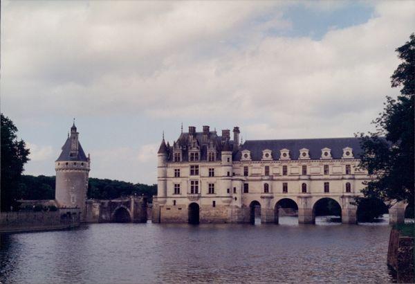 Chateau de Chenonceaux, France.