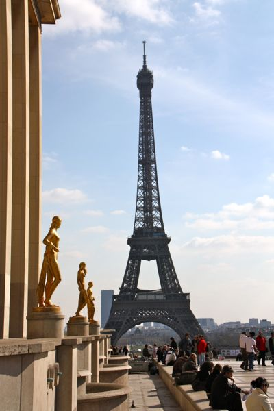 2010 Eiffel Tower, Paris.