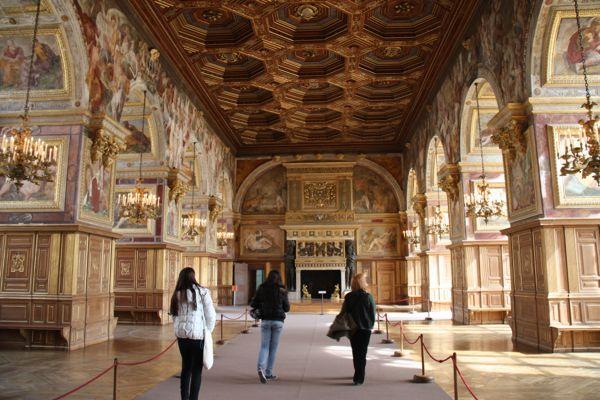 Chateau de Fontainebleau, France.