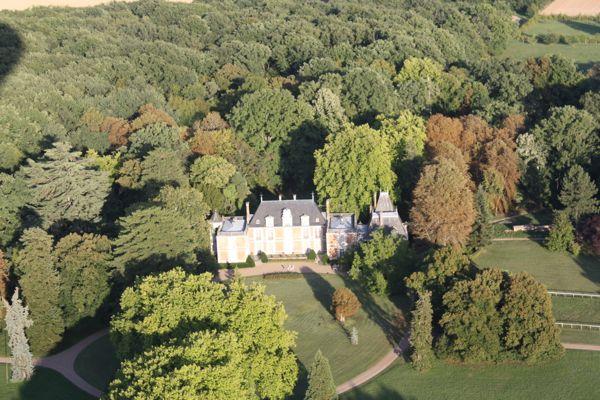 Hot Air Balloon Ride, Loire Valley, France.