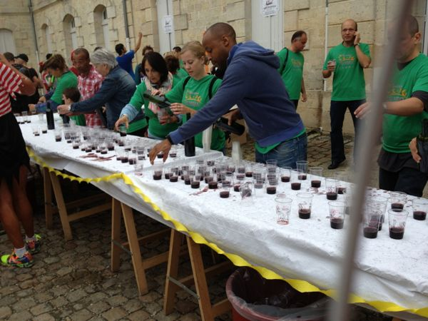 Marathon du Medoc, France.