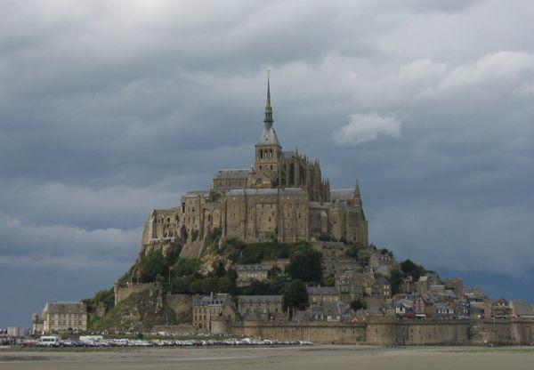 Mont Saint-Michel, France.