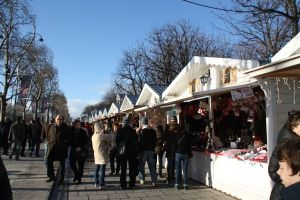 Paris France Winter Market