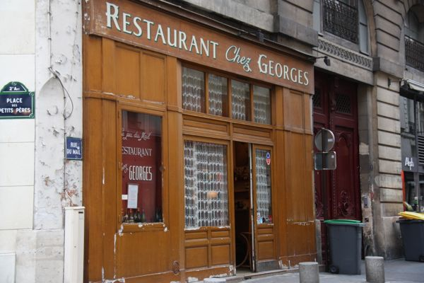 Chez Georges, Paris France.