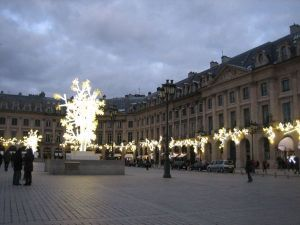 Place Vendome, Paris France. Photo: J. Chung