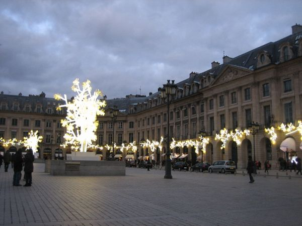 Place Vendome, Paris France. Photo: J. Chung