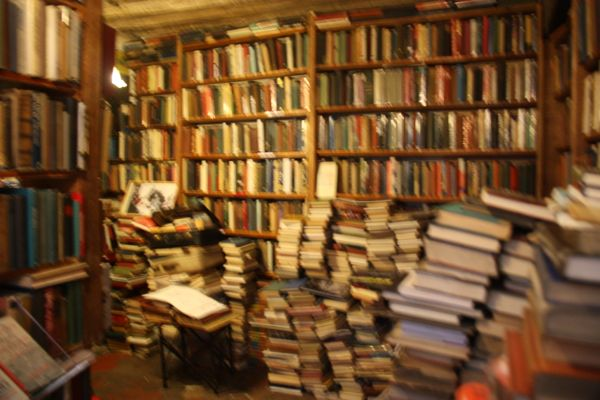 Shakespeare and Co., Paris, France. .