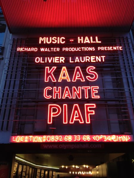 Patricia Kaas Concert, Paris, France.