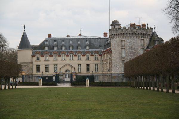 Chateau de Rambouillet, France.