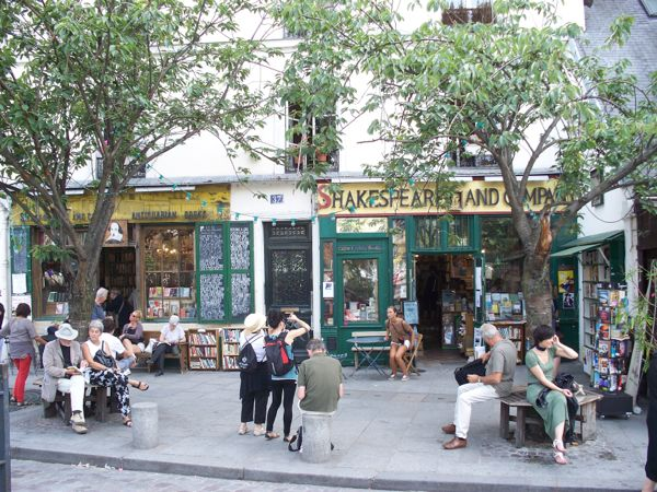 Shakespeare and Co., Paris, France.