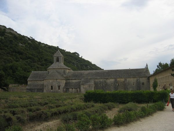 Abbey de Senanque, France---no lavender yet.